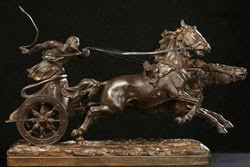 Escultura de Ulpiano Checa